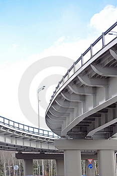 Automobile Overpass Royalty Free Stock Photos - Image: 19629898
