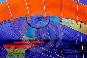 Air Blowing Into The Balloon. Royalty Free Stock Image - Image: 19630846