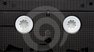 Old Video Cassette.  Obsolete Equipment. VHS Royalty Free Stock Photo - Image: 19631065
