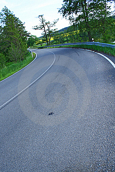 Road Curve Stock Images - Image: 19631224