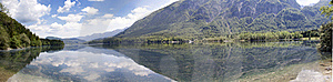Bohinj Lake Royalty Free Stock Image - Image: 19640116
