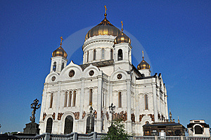 Temple Of The Christ-savior. Moscow. Russia. Stock Images - Image: 19642864