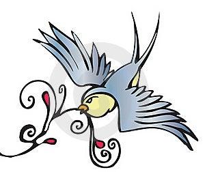 Swallow Royalty Free Stock Photos - Image: 19643298