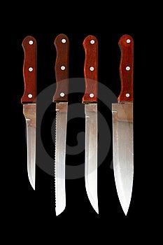 Kitchen Knives Royalty Free Stock Photos - Image: 19643498