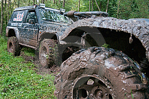 Off-road Vehicles After The Race. Stock Photo - Image: 19645270
