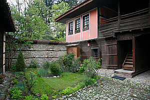 Authentic Old Bulgarian House Royalty Free Stock Images - Image: 19645479