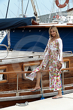 At The Marina Stock Images - Image: 19646324