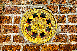 Thammachak Wheel Stock Images - Image: 19650504