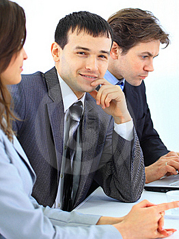 Young Businessman In Business Royalty Free Stock Images - Image: 19653109
