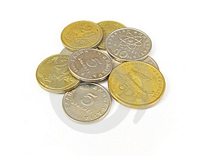 Greek Drachma Coins Royalty Free Stock Photography - Image: 19657407