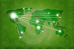 Green World United States Royalty Free Stock Photo - Image: 19658715
