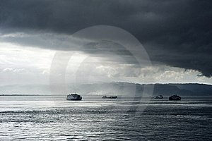 Ferry Royalty Free Stock Photos - Image: 19659008