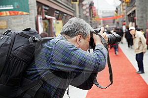 Photographer Shooting Stock Images - Image: 19660204