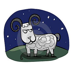 Aries Zodiac Royalty Free Stock Photography - Image: 19660277