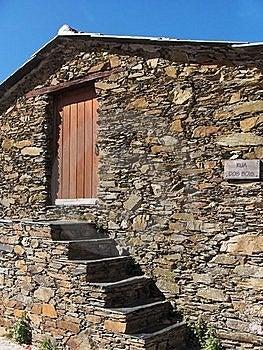 Portugal, Schiefer-Dörfer Lizenzfreie Stockfotos - Bild: 19660748