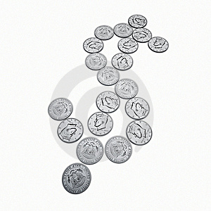 Half Dollar Coin Royalty Free Stock Photo - Image: 19661765