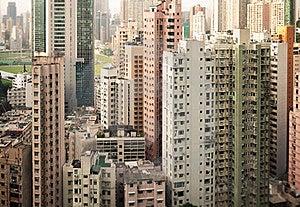 Skyscrapers Of Hong Kong Royalty Free Stock Photo - Image: 19662075