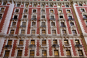 Old Tower Facade Royalty Free Stock Photography - Image: 19662117