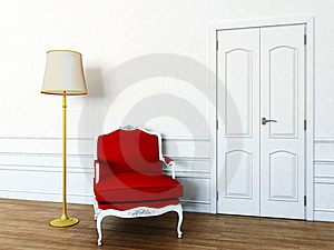 Chair In The Living Room Royalty Free Stock Images - Image: 19662759