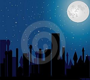 City Night Stock Photos - Image: 19664503