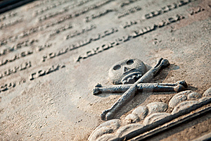Tombstone Royalty Free Stock Image - Image: 19665276