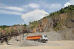 Stone Quarry Scenery Stock Images - Image: 19667554