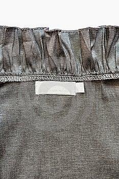 Cloth Back Label Royalty Free Stock Image - Image: 19667636