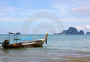 Boat In Sea Stock Images - Image: 19668304