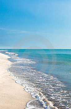 Beach And Sky Royalty Free Stock Image - Image: 19669616