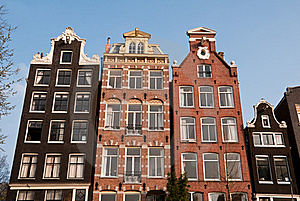 Canal Houses, Amsterdam Stock Photo - Image: 19670340