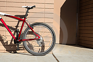 Red Bicycle Stock Image - Image: 19670341