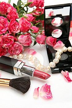 Decorative Cosmetics Stock Image - Image: 19671951