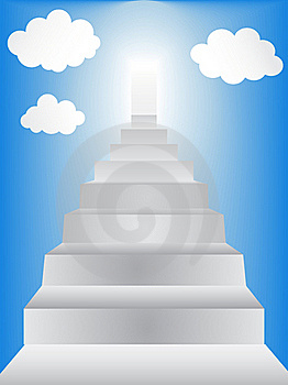 Stairway To Heaven Royalty Free Stock Image - Image: 19674056
