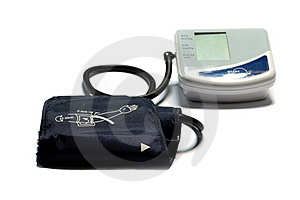 Blood Pressure Monitor Royalty Free Stock Photos - Image: 19674528