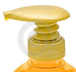 Dispenser Bottle Of Liquid Soap. Stock Photography - Image: 19674842