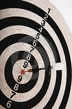 Dartboard Target Royalty Free Stock Images - Image: 19675049