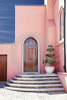 Pink House Stock Image - Image: 19680211