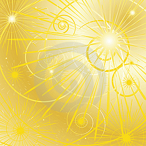 Golden Star Background Royalty Free Stock Images - Image: 19680999