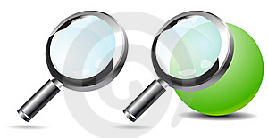 Magnifying Glass Stock Photo - Image: 19683810