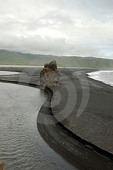 Dyrholaey At Southern Iceland Stock Photos - Image: 19683913