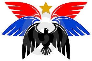 Diseño Del águila Imagen de archivo - Imagen: 19684901