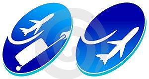 Travel Logos Royalty Free Stock Image - Image: 19684906