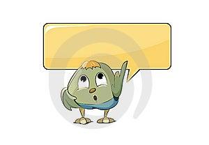 Funny Bird Stock Image - Image: 19689641