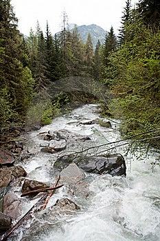 Alpine River Royalty Free Stock Image - Image: 19689746