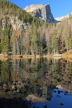Nymph Lake Royalty Free Stock Images - Image: 19690769