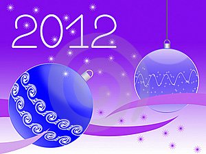 New Year's Greeting Card Stock Photography - Image: 19691052