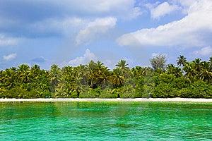 Tropical Beach At Maldives Stock Photography - Image: 19691102