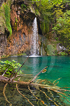 Plitvice Lakes In Croatia Stock Image - Image: 19691151