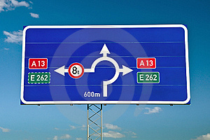 Traffic Signs Royalty Free Stock Images - Image: 19694049