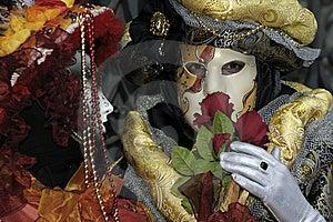 Venetian Carnival Mask Stock Photo - Image: 19695120